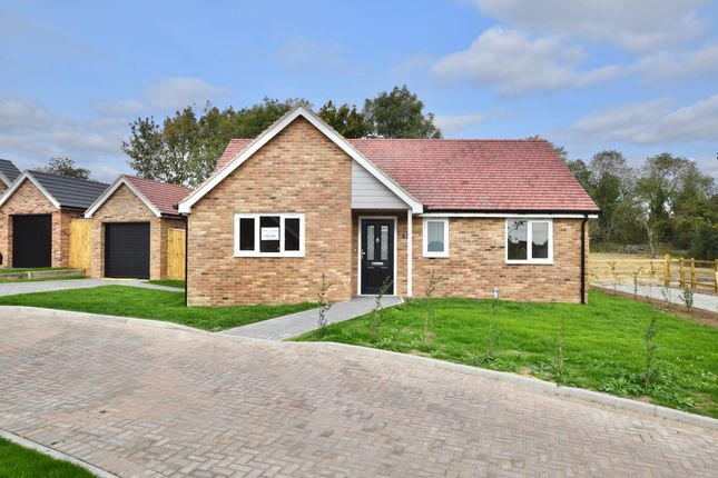 Thumbnail Detached bungalow for sale in The Woodyard, Vyces Road, Framlingham
