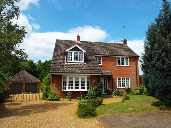 Thumbnail Detached house for sale in South Wootton, King's Lynn, Norfolk