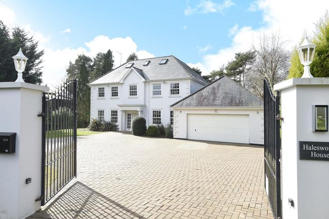 Thumbnail Detached house to rent in Gorse Hill Road, Virginia Water