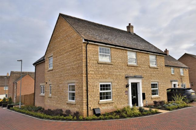 Thumbnail Detached house for sale in Uffington Road, Barnack, Stamford