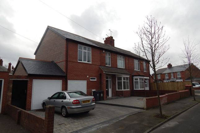Thumbnail Semi-detached house to rent in Hazel Avenue, North Shields