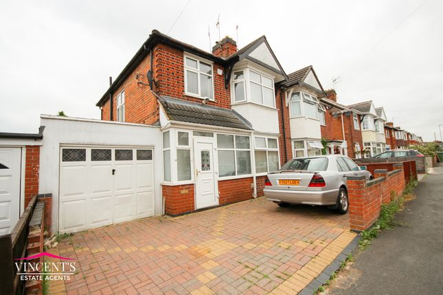 Thumbnail Semi-detached house for sale in Kirkland Road, Leicester