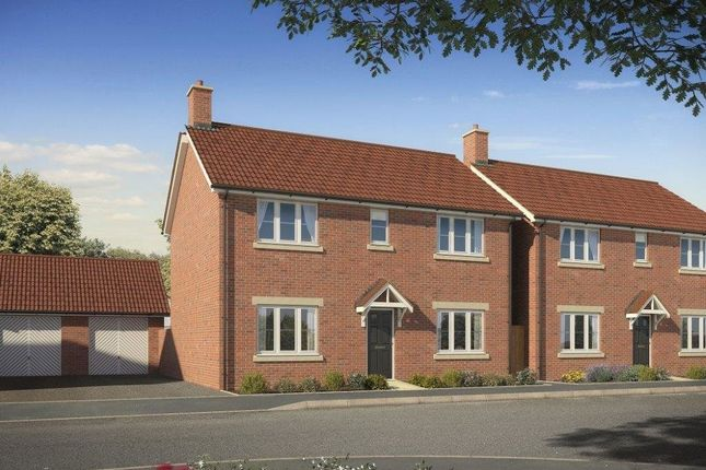 "Thumbnail Detached house for sale in ""The Pickering"" at Highworth Road, Shrivenham, Swindon"
