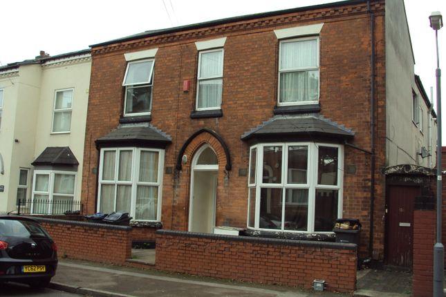 Thumbnail Flat to rent in Stamford Road, Handsworth, Birmingham