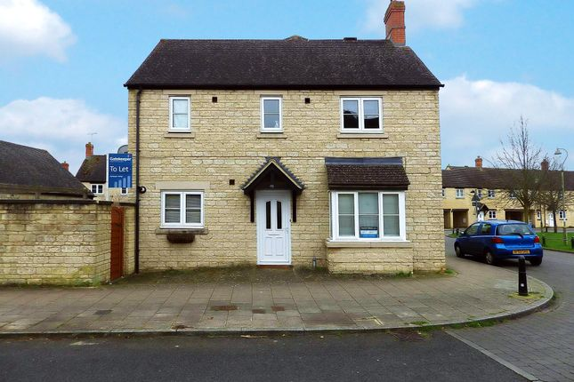 Thumbnail Semi-detached house to rent in Campion Way, Witney, Oxfordshire