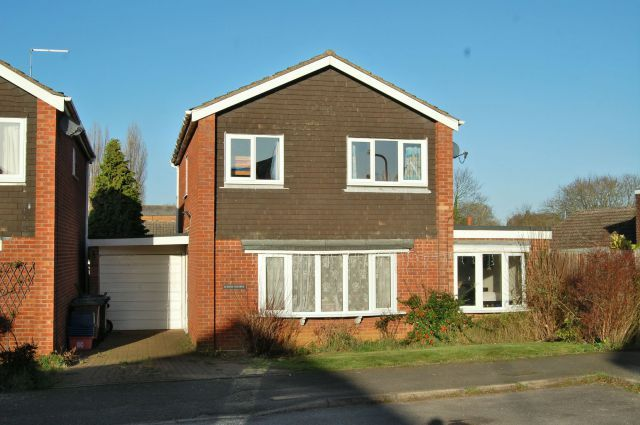 Thumbnail Detached house for sale in Martyns Way, Weedon, Northampton