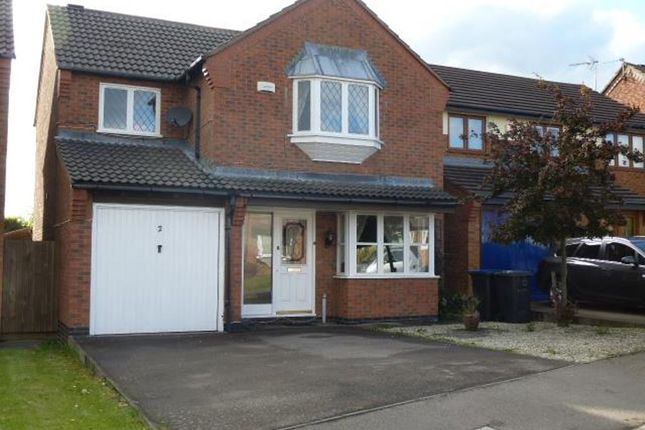 Thumbnail Detached house for sale in Freswick Close, Hinckley
