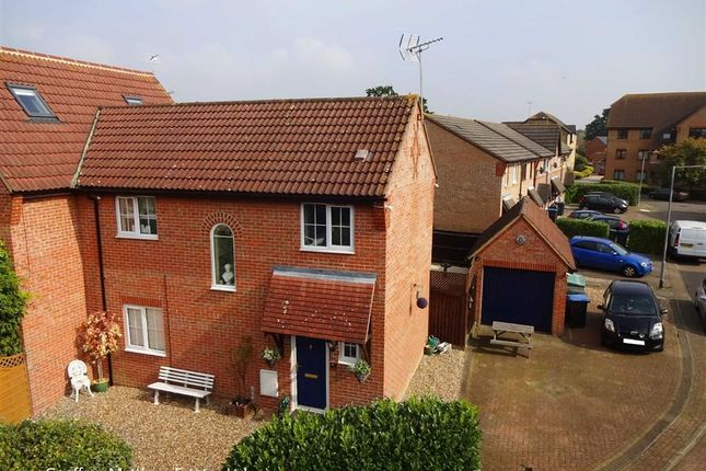 Thumbnail Semi-detached house for sale in Coalport Close, Church Langley, Harlow, Essex