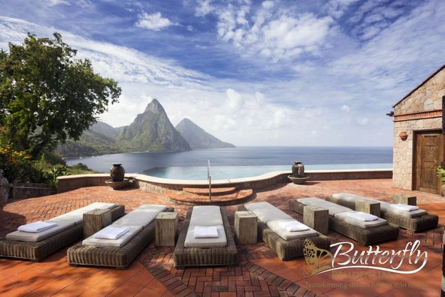 Thumbnail Detached house for sale in Soufriere, St Lucia, St Lucia