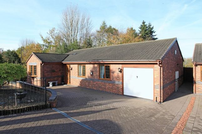 Thumbnail Detached bungalow for sale in 2 Minchers Rise, The Rock, Telford
