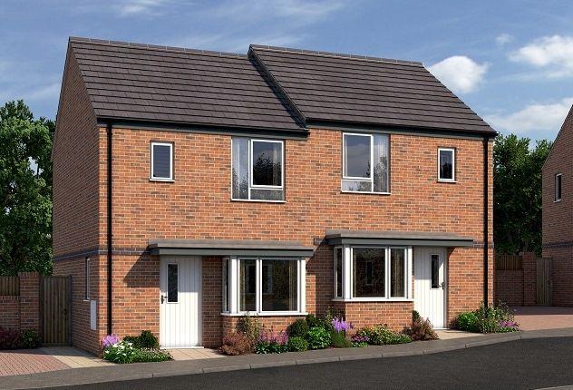 Thumbnail Semi-detached house for sale in Ockerhill Road, Tipton