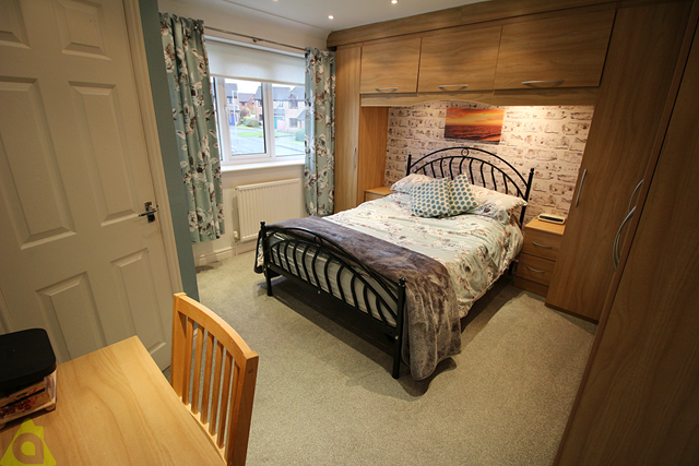 Master Bedroom of Churnet Close, Westhoughton BL5