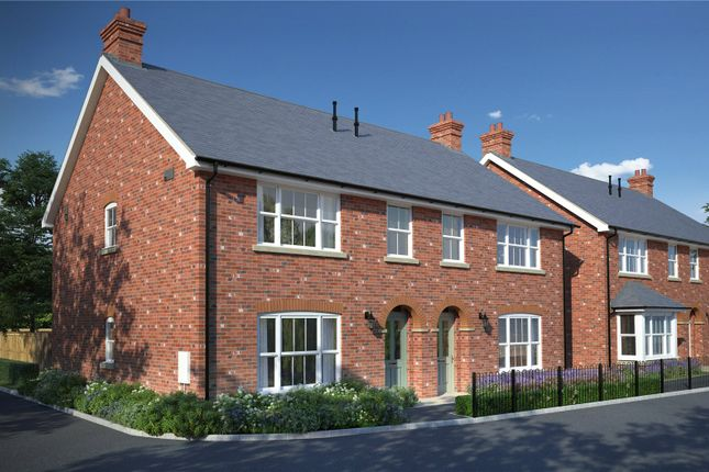 Thumbnail Semi-detached house for sale in Guildford Road, Frimley Green, Surrey