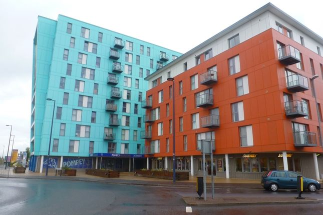 Thumbnail Flat to rent in Fratton Way, Southsea