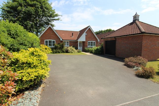 Thumbnail Detached bungalow for sale in New Road, Fritton, Great Yarmouth