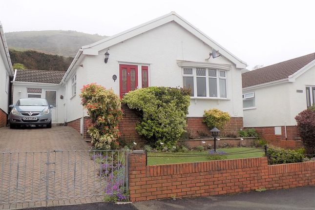 Thumbnail Semi-detached bungalow for sale in Meadow Walk, Ystrad, Pentre, Rhondda Cynon Taff.