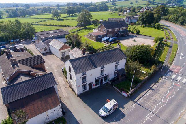 Thumbnail Detached house for sale in Llansantffraid, Powys