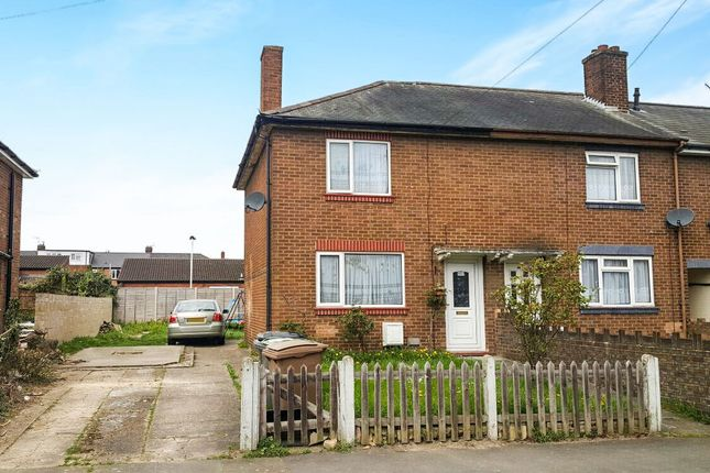 Thumbnail End terrace house for sale in Trent Road, Luton