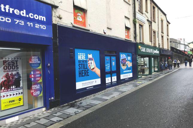 Retail premises to let in Taff Street, Pontypridd