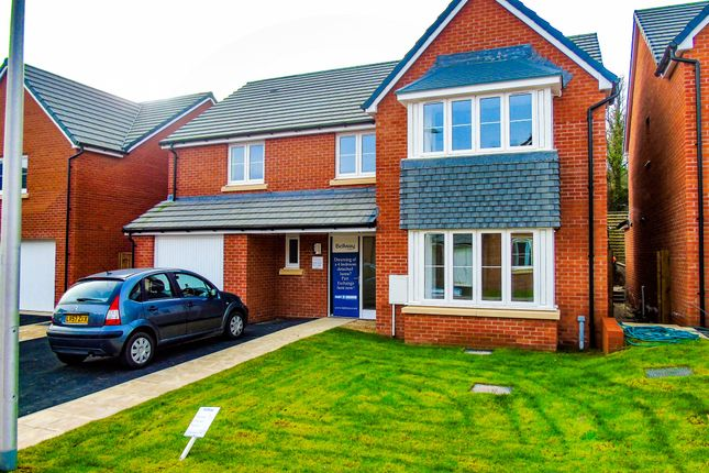 Thumbnail Detached house for sale in St Lythans Park, Old Port Road, Cardiff
