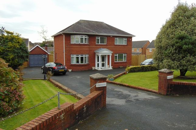 Thumbnail Detached house for sale in Gwscwm Road, Burry Port, Carmarthenshire.