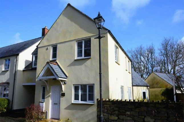 Thumbnail Link-detached house to rent in St. Francis Meadow, Mitchell, Newquay