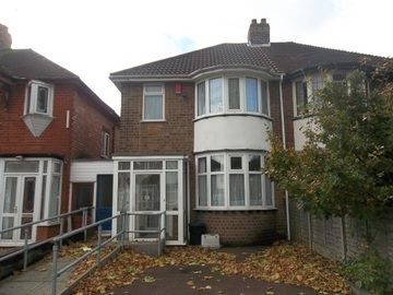 Thumbnail Semi-detached house to rent in Glendower Road, Perry Barr