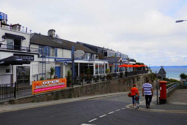 Thumbnail Pub/bar for sale in Chy Bar And Koola Club, 12, Beach Road, Newquay