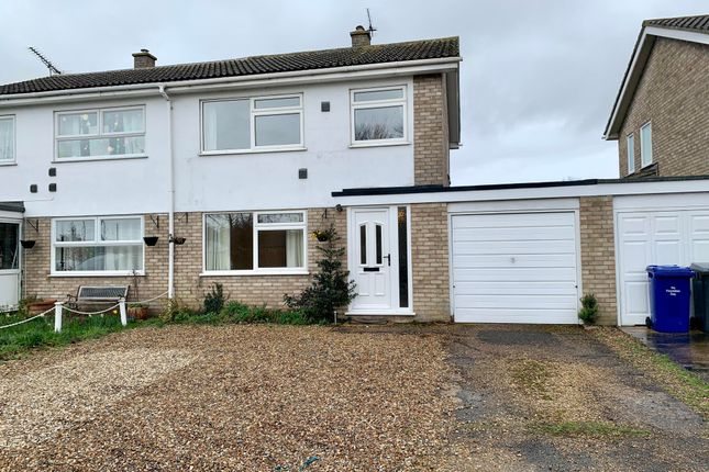 Thumbnail Semi-detached house to rent in Holmsey Green Gardens, Beck Row, Bury St. Edmunds