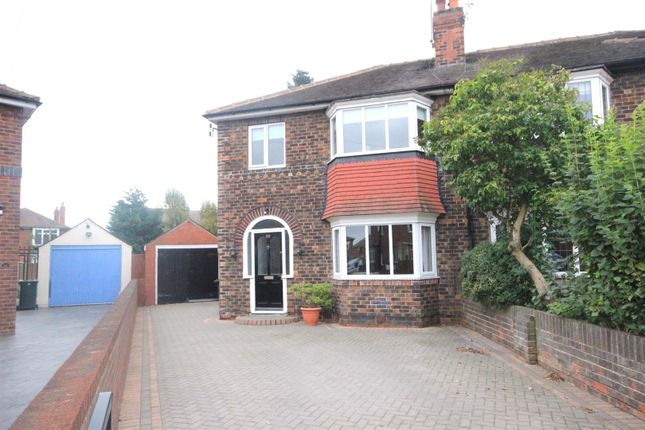 Thumbnail Semi-detached house for sale in Crossways North, Wheatley Hills, Doncaster