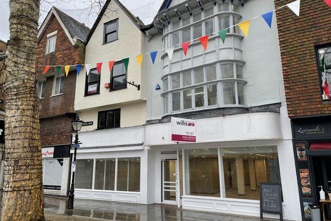 Thumbnail Retail premises to let in Salisbury