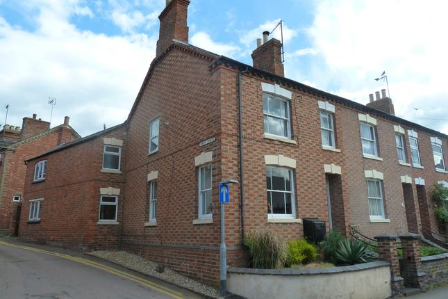 Thumbnail End terrace house to rent in High Street, Wollaston, Northamptonshire
