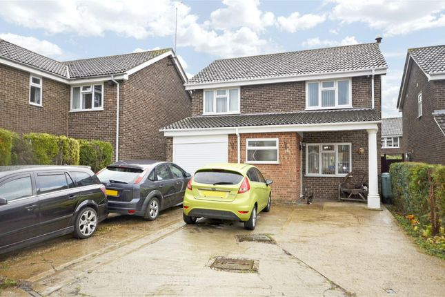 Thumbnail Detached house for sale in Holmfield Drive, Raunds, Northamptonshire