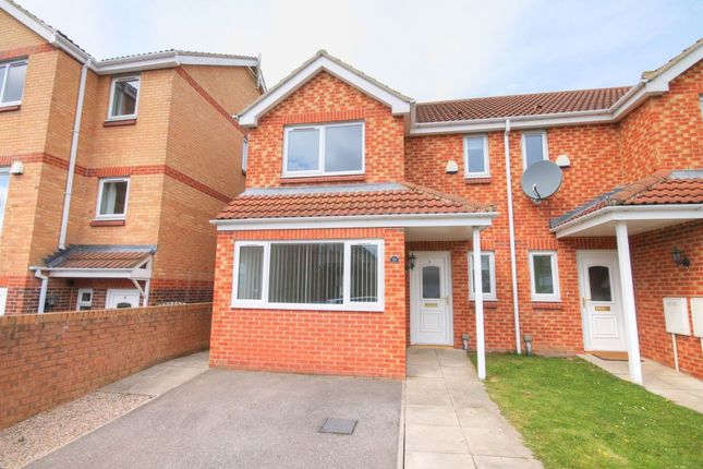 Thumbnail Semi-detached house to rent in The Chequers, Consett