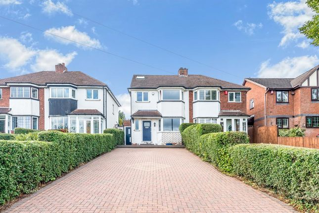 Thumbnail Semi-detached house for sale in Clarence Road, Sutton Coldfield