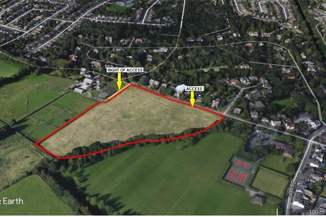 Thumbnail Land for sale in Land At Winifred Lane, Aughton, Ormskirk