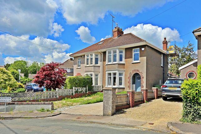 Thumbnail Semi-detached house for sale in Hollybush Terrace, Church Village, Pontypridd