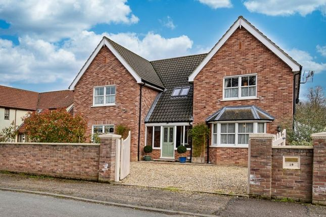 Thumbnail Detached house for sale in Bell Lane, Barton Mills, Bury St. Edmunds