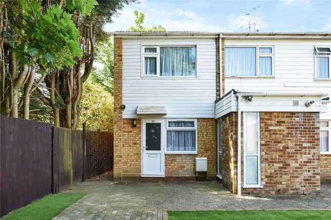 Thumbnail End terrace house for sale in Fair Close, Bushey