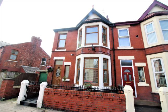 Thumbnail End terrace house for sale in Promenade Road, Fleetwood