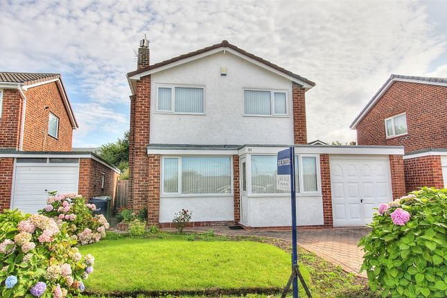 Thumbnail Detached house for sale in Broadmeadows, East Herringotn, Sunderland