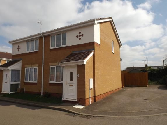 Thumbnail Semi-detached house for sale in Britannia Walk, Market Harborough, Leicestershire