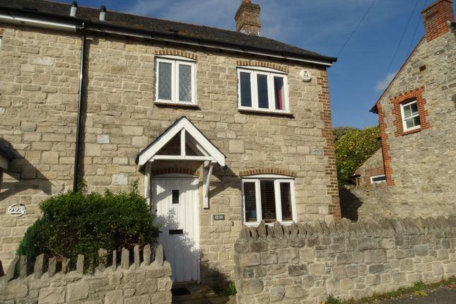 Thumbnail End terrace house for sale in Preston Road, Preston, Weymouth