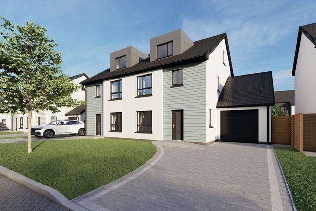 Thumbnail Semi-detached house for sale in Plot 62, The Meadows, Douglas Road, Castletown