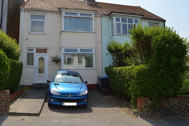Thumbnail Semi-detached house for sale in Kent Road, Margate
