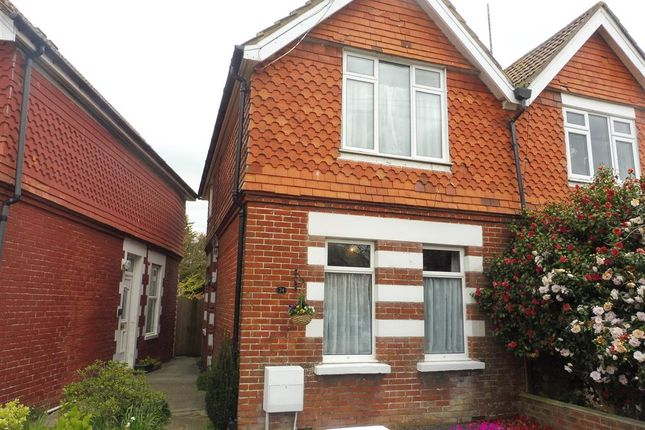 Thumbnail Semi-detached house for sale in Victoria Road, Polegate