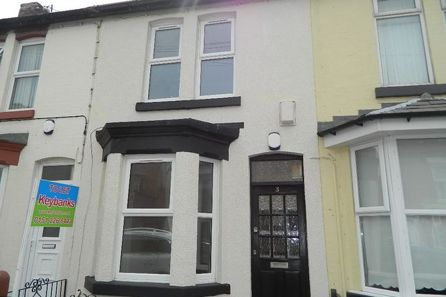 Thumbnail Terraced house to rent in Beechwood Road, Liverpool, Merseyside