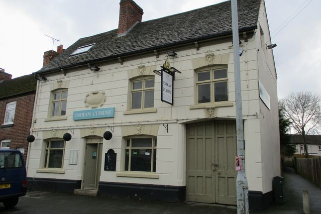 Restaurant/cafe to let in Leicester Road, Mountsorrel, Loughborough