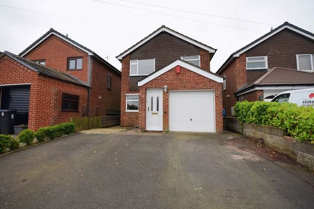 Thumbnail Detached house for sale in Whitmore Avenue, Werrington, Stoke-On-Trent