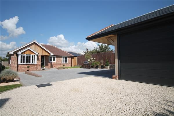 Thumbnail Bungalow for sale in Bridge Cottages, Sladburys Lane, Clacton-On-Sea